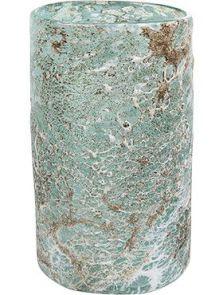 Aya, Vase Cylinder Ice Green, diam: 15cm, H: 27cm