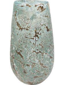 Aya, Vase Vulcan Ice Green, diam: 14cm, H: 24cm