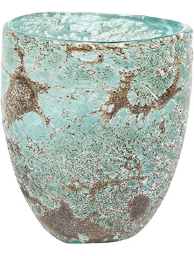 aya vase partner ice green diam 13cm h 15cm