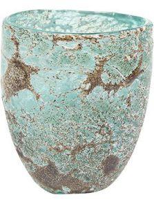 Aya, Vase Partner Ice Green, diam: 13cm, H: 15cm
