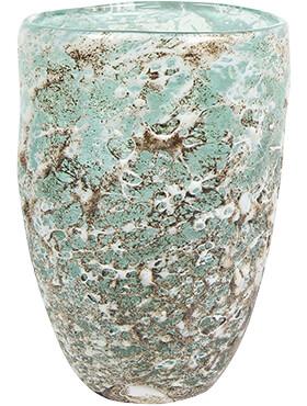 aya vase partner ice green diam 14cm h 20cm