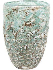 Aya, Vase Partner Ice Green, diam: 14cm, H: 20cm