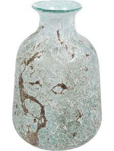 Aya, Vase Bottle Ice Green, diam: 17cm, H: 26cm