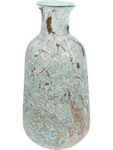 Aya, Vase Bottle Ice Green, diam: 18cm, H: 36cm