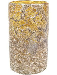 Aya, Vase Cylinder Mountain, diam: 15cm, H: 27cm