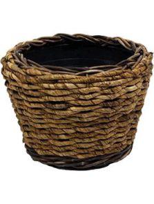 Drypot Abaca, Round, diam: 33cm, H: 24cm