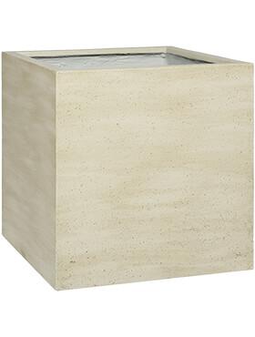 cement block l vertical beige washed l 50cm h 50cm b 50cm