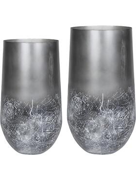 elisa vase mystic earth set van 2 diam 41cm h 68cm