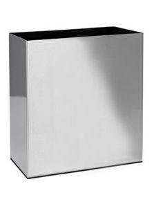 Alure Trend, Aluminium geborsteld gelakt, L: 66cm, H: 75cm, B: 35cm