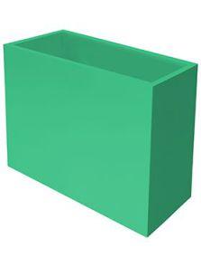 Stiel Trend Topper, Op wiel kleur hoogglans (waterdicht), L: 79cm, H: 72cm, B: 35cm