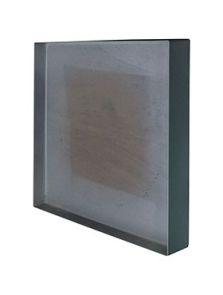 Stiel Frame, L-profiel RAL 7016 mat, L: 50cm, H: 5cm, B: 50cm