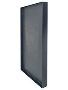 Stiel Frame, L-profiel RAL 7016 mat, L: 100cm, H: 5cm, B: 50cm
