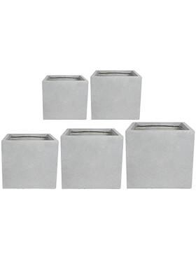 amfa pot grey set van 5 l 52cm h 48cm b 52cm
