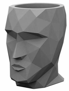 Adan Nano, Basic anthracite, L: 17cm, H: 18cm, B: 13cm