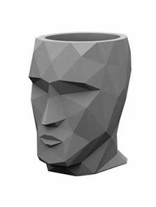 Adan Nano, Basic grey, L: 17cm, H: 18cm, B: 13cm