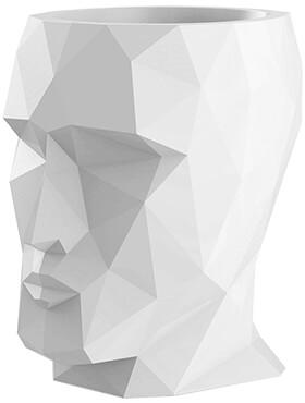 adan nano glossy opaque white l 17cm h 18cm b 13cm