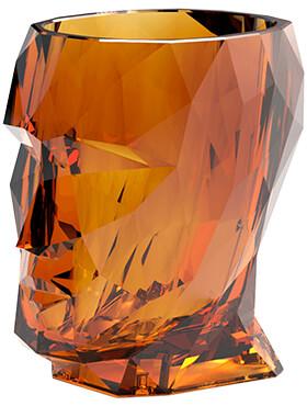 adan nano glossy clear amber l 17cm h 18cm b 13cm