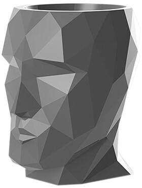 adan nano lacquered anthracite l 17cm h 18cm b 13cm