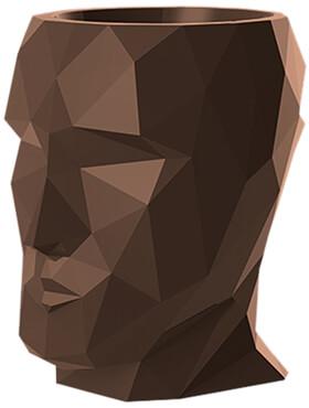 adan nano lacquered bronze l 17cm h 18cm b 13cm