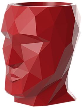 adan nano lacquered red l 17cm h 18cm b 13cm