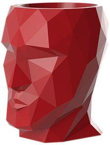 Adan Nano, Lacquered Red, L: 17cm, H: 18cm, B: 13cm