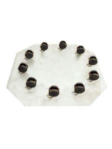 Wielplateaus, Zwenkwiel 10 x 35 mm, diam: 72cm, H: 7cm
