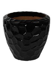 Cascara, Couple Relief Black Shiny, diam: 55cm, H: 50cm