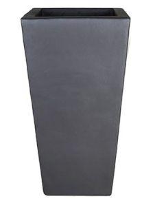 Antraciet, Kubis, L: 33cm, H: 60cm, B: 33cm